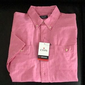 Chaps short sleeve button down Chaps shirt